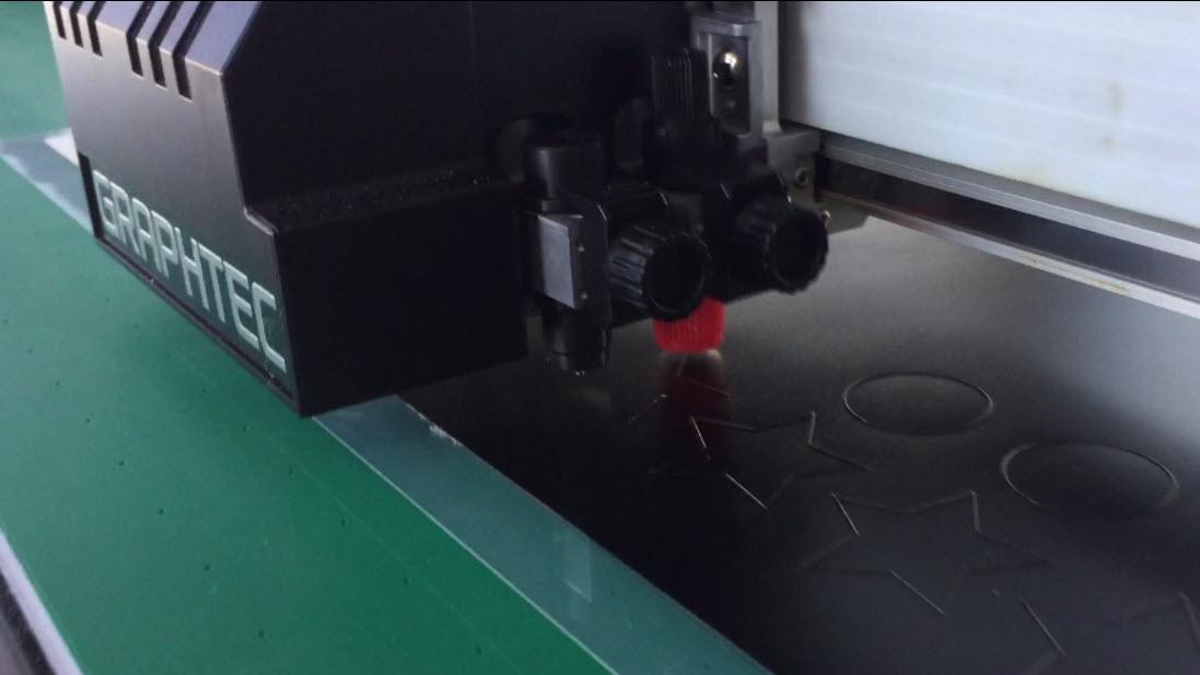 Magnetfolie auf dem FCX2000