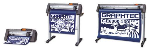 Dieses Bild zeigt die Mittelklasse Graphtec CE6000 Plus Rollenplotter