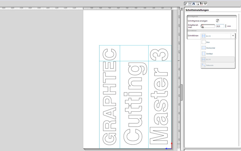 PlugIn für Adobe Illustrator und CorelDRAW - Cutting Master 3