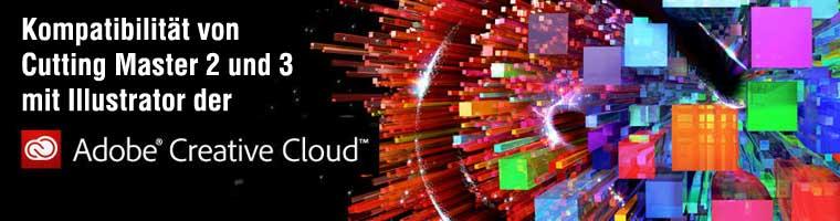 CuttingMaster 2 und 3 laufen in der Adobe Cretaive Cloud