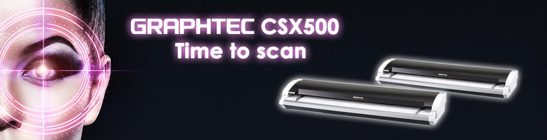 Vollfarb-Großformatscanner Graphtec CSX500 Serie