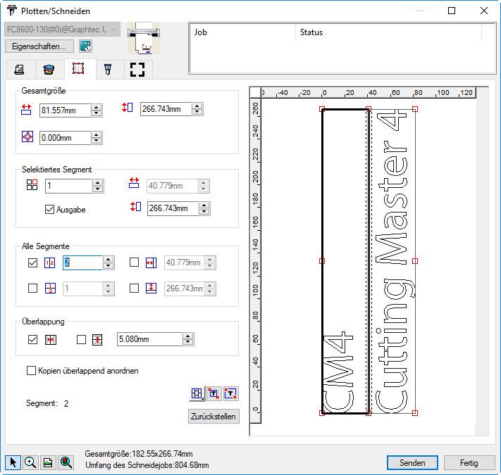 Cutting Master 4 - Plotten und Schneiden - medacom graphics GmbH