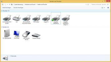 Graphtec Ansteuerung: Druckerverwaltung