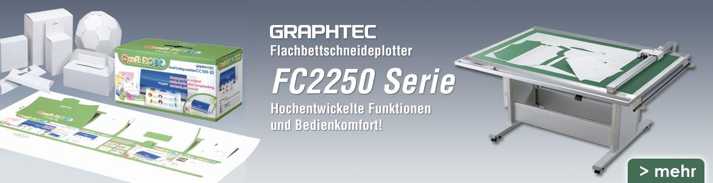 Flachbettplotter Graphtec FC2250 Serie