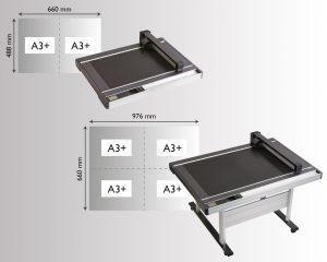 Verfügbar in 2 Tischgrößen