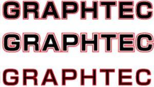 Umrandungen von Texten mit der Software Graphtec Pro Studio