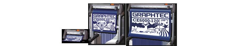 Dieses Bild zeigt die Mittelklasse Graphtec CE6000 Schneideplotter