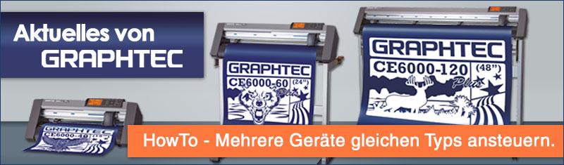 Graphtec Ansteuerung: Mehrere Geräte gleichen Typs