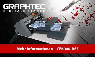Graphtec CE6000-ASF auf dem Fake Day 2019
