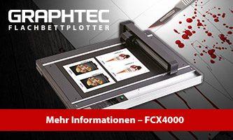 Graphtec FCX4000 auf dem Fake Day 2019