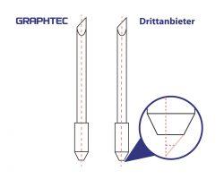 Vergleich original Graphtec Plottermesser vs. günstige Alternative