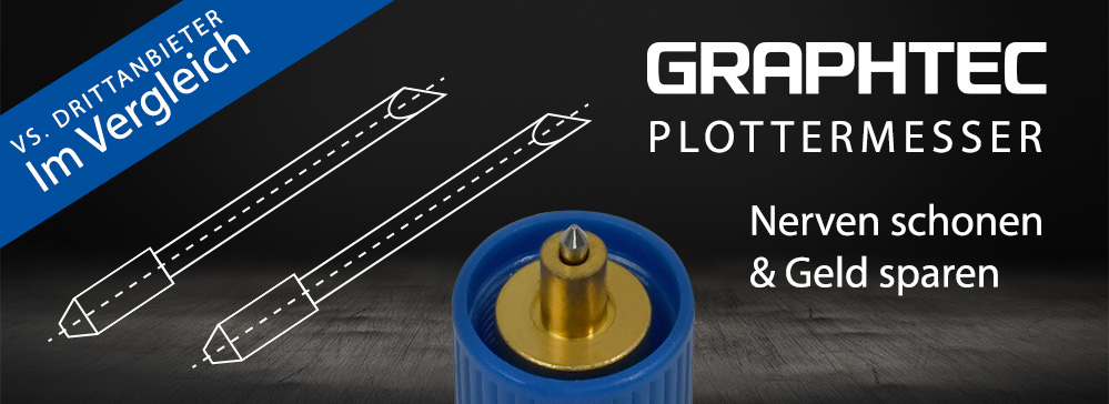 Plottermesser original von Graphtec vs. Drittanbieter