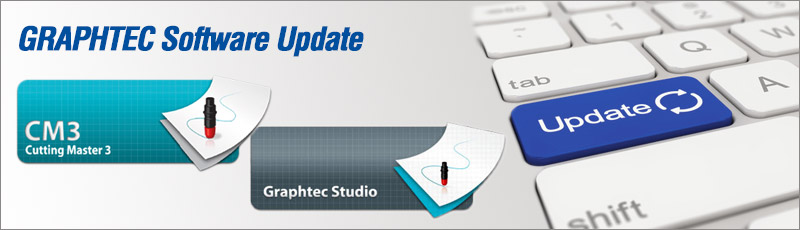 Cutting Master 3 und Graphtec Studio (Software-Update)